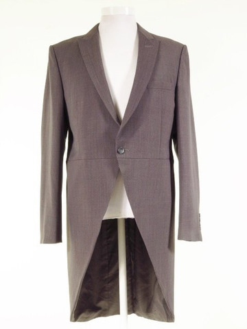 Grey tailcoat