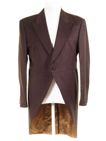 Brown tailcoat