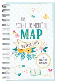 Scripture Memory Map for Teen Girls