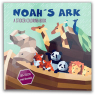 Noah's Ark Sticker-Colouring Book