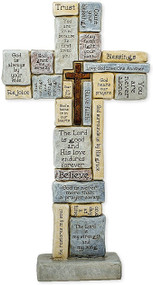 Encouragement words & prayers Table Cross