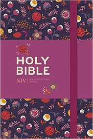 Holy Bible: New International Version (Floral Notebook Bible)
