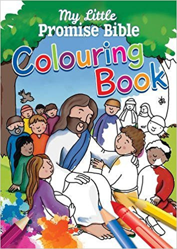 My Little Promise Bible Colouring Book - The Book Well