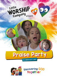 Praise Party DVD and Colouring Book
