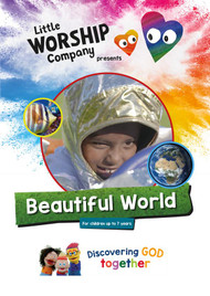 Beautiful World DVD and colouring book