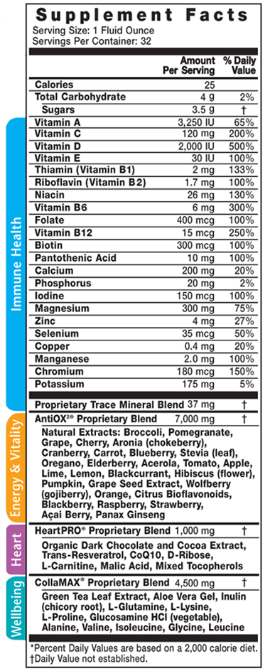 vibe supplement facts