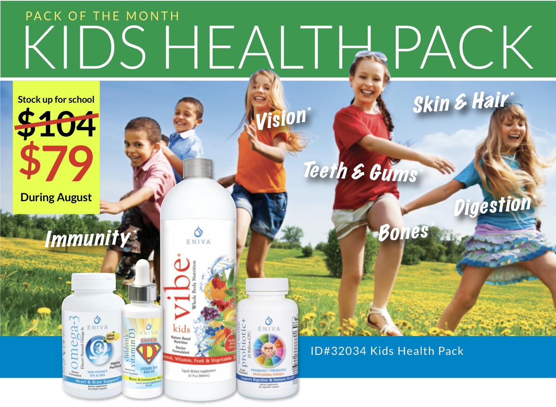 Kids running jumping Health Supplements for children