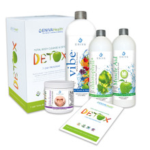 Detox and Whole Body Natural Cleanse Kit - VIBE Fruit Flavor (32 oz), 7-Day Detox and Cleanse, No Fasting, Easy to Use, No Dieting, Natural Ingredients, Whole Body Detox, Product ID: 32023