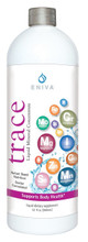 Eniva Minerals for Life Trace Multi Minerals, 32 oz, liquid dietary supplement, Cell-Ready, wide spectrum rare minerals, integrative nutrition, essence of life, proper balance of minerals, nutrient depleted soil, over processed foods lack of minerals, why supplement, the need to supplement, solutomic, bioavailable nutrients, natural minerals, no fructose, no sugars, no artificial colors, no artificial flavorings, no calories, no caffeine, no animal by-products, no animal testing, aqueous delivery system, advanced nutrition, Product ID 8917