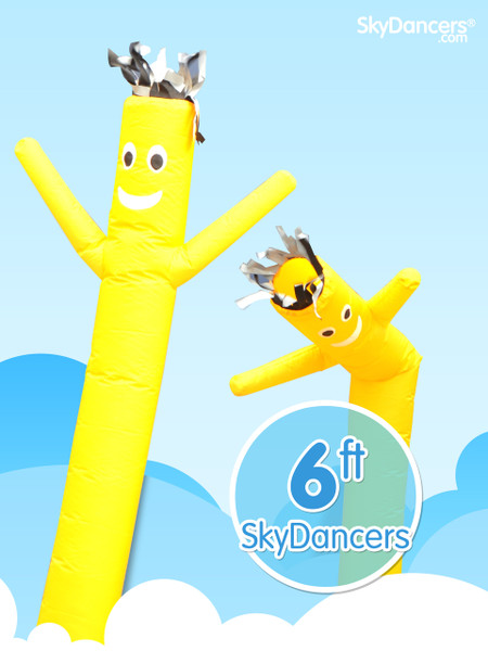 Sky Dancers Yellow - 6ft