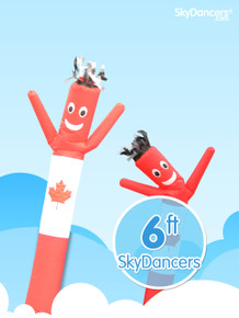 Sky Dancers Canadian Flag - 6ft