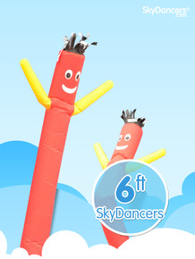 Sky Dancers Red & Yellow - 6ft