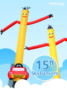 Car Shape Sky Dancer
