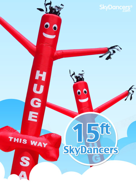 SkyDancers.com Huge Sale with Arrow