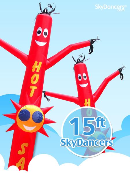 SkyDancers.com Hot Sale Sun Shape