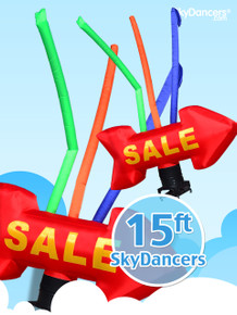 Sky Dancers Red Giant SALE Arrow with Tubes