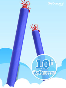 Sky Dancers Tube Blue - 10ft