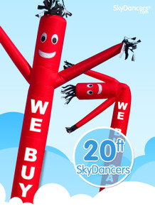Sky Dancers We Buy Cars Red - 20ft