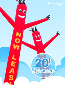 Sky Dancers Now Leasing Red - 20ft
