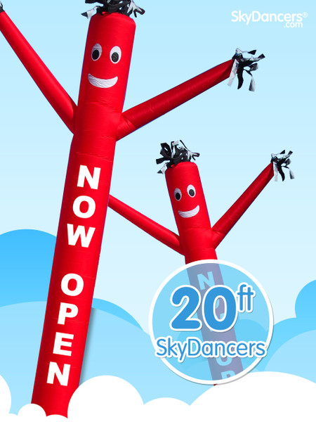 Sky Dancers Now Open Red