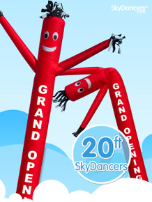 Sky Dancers Grand Opening Red - 20ft