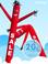 Sky Dancers Sale Red - 20ft