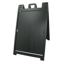 Black Deluxe Plastic A-Frame