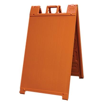 Orange Plastic A-Frame