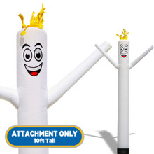 White Sky Dancers® Inflatable Tube Man 10ft