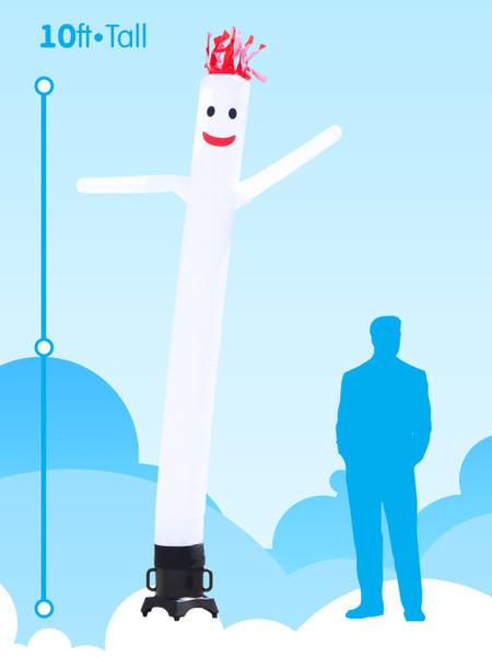 Sky Dancer White - 10ft