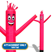 Pink Sky Dancers® Inflatable Tube Man 10ft