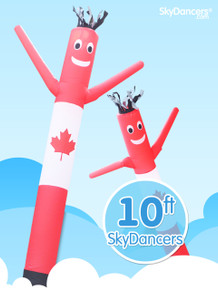Sky Dancers Canadian Flag - 10ft