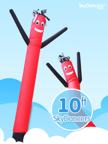 Sky Dancers Red & Black - 10ft