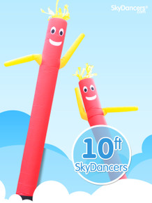 Sky Dancers Red & Yellow - 10ft
