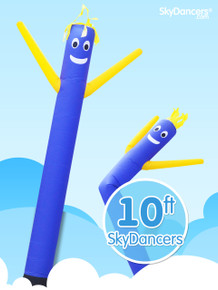 Sky Dancers Blue & Yellow - 10ft