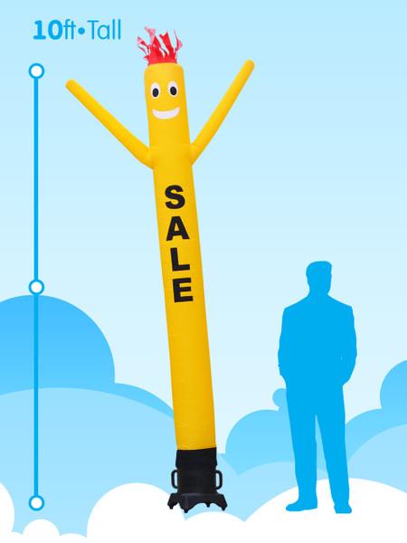Sky Dancer Yellow SALE - 10ft