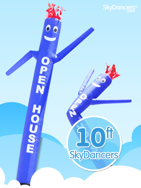 Sky Dancers Blue OPEN HOUSE - 10ft