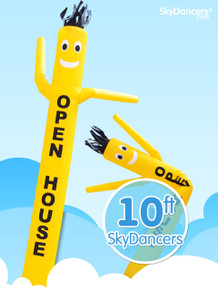 Sky Dancers Yellow OPEN HOUSE - 10ft