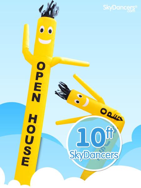 Sky Dancers Yellow OPEN HOUSE - 10ft