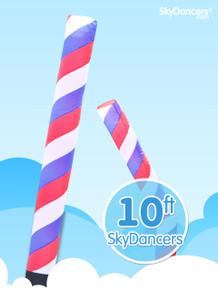 Sky Dancers Barber Pole - 10ft