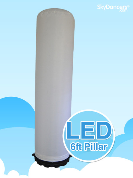 Inflatable LED 6ft Pillar 1