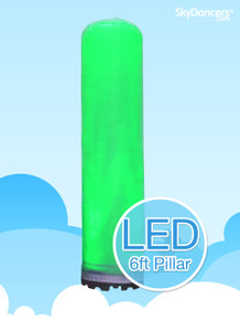 Inflatable LED 6ft Pillar 2