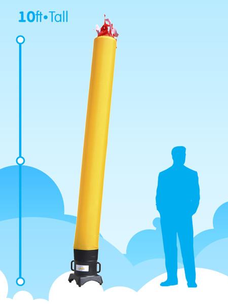 Sky Dancer Tube Yellow - 10ft