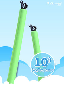 Sky Dancers Tube Green - 10ft