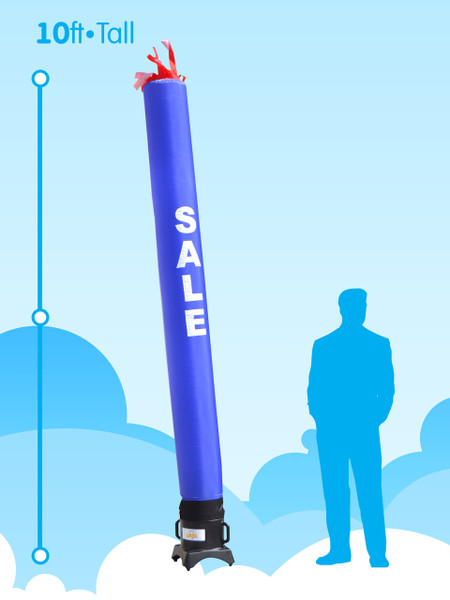 Sky Dancer Tube Blue SALE - 10ft