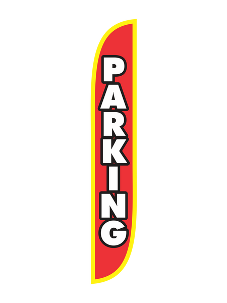 Parking - Red Feather Flag
