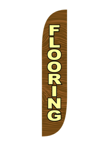 Flooring Wood Brown Feather Flag