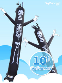 Skeleton Sky Dancers® Inflatable Tube Man 10ft