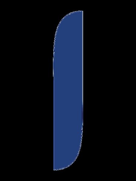 Dark Blue Feather Flag
