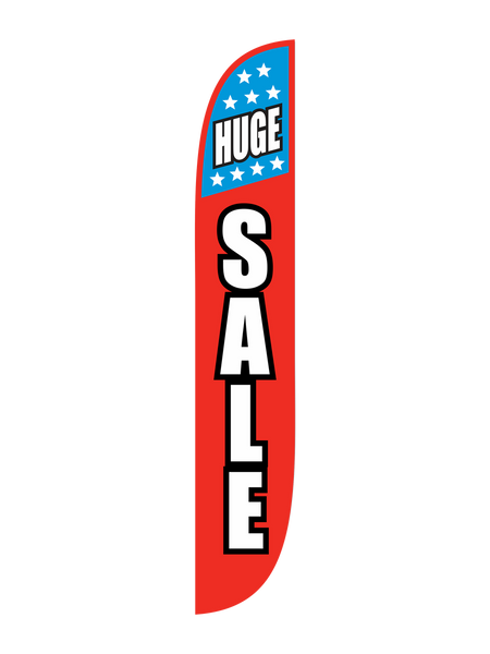 Huge Sale w/ Stars Feather Flag